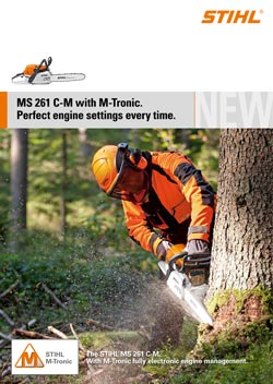 CHAIN SAW MS 261 C-M WITH M-TRONIC
