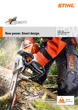 CHAIN SAW MS 362 C-M WITH M-TRONIC