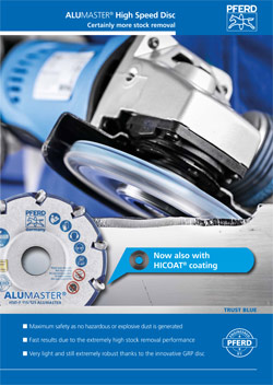 ALUMASTER HIGH SPEED DISC