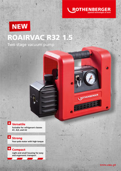 NEW TWO STAGE VACUUM PUMP ROAIRVAC R32 1.5