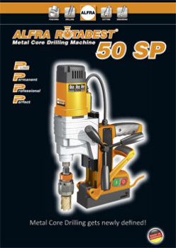 ROTABEST METAL CORE DRILLING MACHINE 50 SP