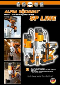 ROTABEST METAL CORE DRILLING MACHINES SP LINE