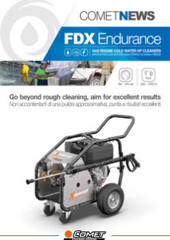 FDX ENDURANCE - GAS ENGINE COLD WATER HP CLEANERS