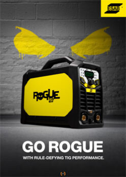 GO ROGUE WITH RULE DEFYING TIG PERFORMANCE