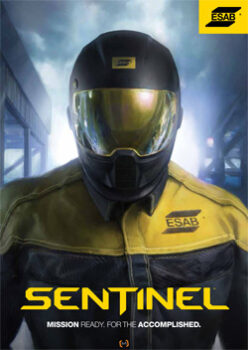 SENTINEL A50 THE HELMET OF CHOICE FOR WELDING