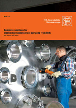 COMPLETE SOLUTIONS FOR MACHINING STAINLESS STEEL SURFACES