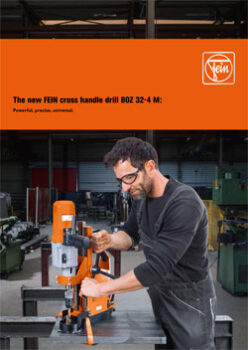 THE NEW CROSS HANDLE DRILL BOZ 32-4M