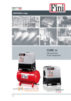 CUBE SD - SILENCED ROTARY SCREW COMPRESSORS