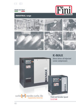 K-MAX DIRECT OIL INJECTED SCREW COMPRESSORS