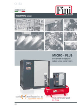 MICRO-PLUS BELT DRIVEN OIL INJECTED ROTARY SCREW COMPRESSORS