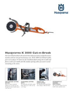 K3000 CUT-N-BREAK POWER CUTTER