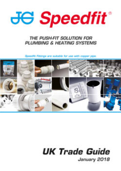 THE PUSH-FIT SOLUTION FOR PLUMBING HEATING SYSTEMS