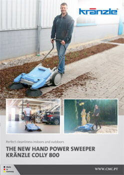 HAND POWER SWEEPER COLLY800