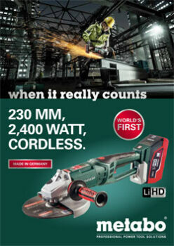 230 MM LARGE CORDLESS ANGLE GRINDER